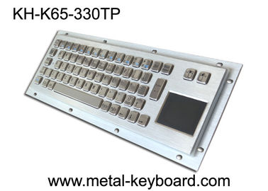 Chiny Rugged Industrial Keyboard with Touchpad , Stainless Steel Material fabryka