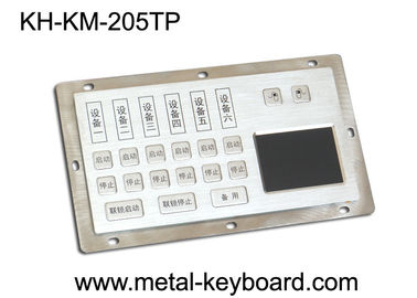Chiny Dust - Proof Panel Mount Keyboard with Stainless Steel Material for Info - Kiosk fabryka