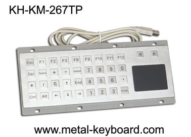Chiny Custom Mine Vandal proof Metal Panel Mount Keyboard with Touchpad Mouse fabryka