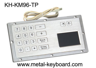 Chiny Industrial Panel Mount Touchpad Keyboard with USB Interface , Custom Mechanical Keyboard fabryka