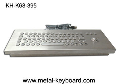 Chiny Vandal proof industrial Ruggedized keyboard with Stainless Steel Material fabryka
