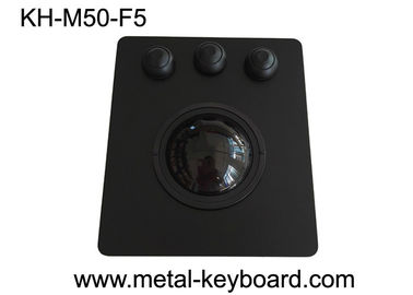 50mm Black Panel Mountball Wysoka czułość PS / 2 / USB Interface OEM / ODM Dostępny
